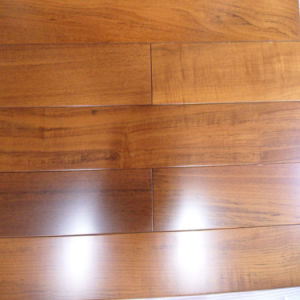 Guangzhou Low Price Asian Teak Engineered Wood Flooring pictures & photos