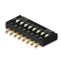 SGS 8-Bit Micro DIP Switches for Household Appliances
