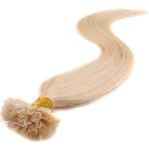 Pre-Bonded Keratin Nail U Tip Human Hair Extensions pictures & photos