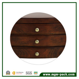 High-End Personalized Luxury Black Wooden Jewelry Box pictures & photos