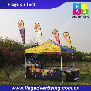 Attractive Outdoor Advertising Flying Teardrop Banner pictures & photos