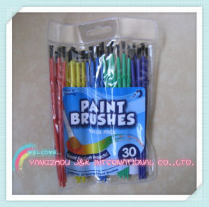 Kids Value Pack Plastic Handle Paint Brush
