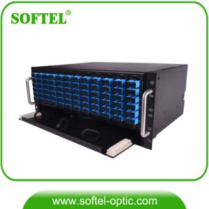 Rack Mounted Fiber Optical Frame ODF 144c pictures & photos