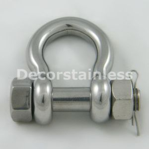 Stainless Steel Straight Dee Shackle pictures & photos