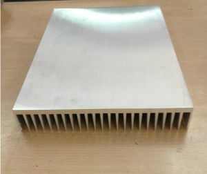 301mm Width Aluminum Profile Heat Sink 301mm*51.5mm*200mm Length Can Custom-Made pictures & photos