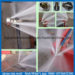 500bar Industrial Surface Cleaner High Pressure Triplex Plunger Pump pictures & photos
