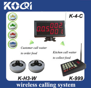 Customer Waiter Kitchen Communication with Button Display Keypad pictures & photos