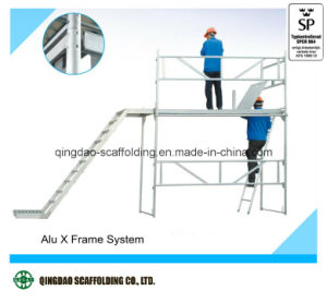 High Security Aluminium Scaffold Export to Europe pictures & photos