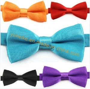 Fashion Apparel Accessories Baby Kids Polyester Bowtie Unicolor pictures & photos