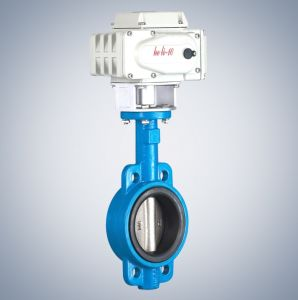 Electric Butterfly Valve Hl -10 pictures & photos