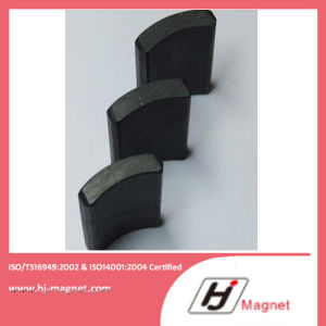 Y30 Arc Segment Sintered Hard Ferrite Motor Magnets