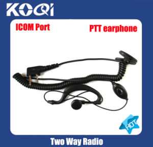 Mini Durable Earpiece M02 to Long Range Walky Talky pictures & photos