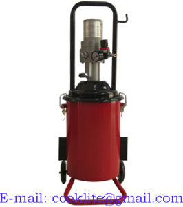 High Volume Oil Grease Manual Bucket Pump Pneumatic Operated Greaser - 12L pictures & photos