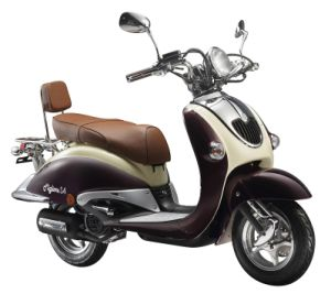 EEC Retro Street Motorbike Scooters (HD125T-10A) pictures & photos