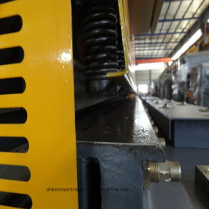 China Best Metal Pipe Shearing Machine with Flat Hardende Rail pictures & photos