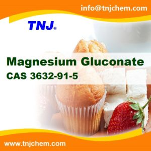 China Supplier Magnesium Gluconate Food Grade CAS 3632-91-5 at Best Price pictures & photos