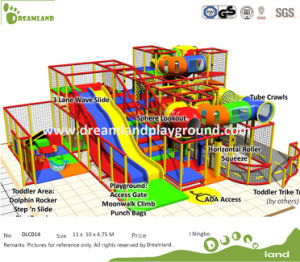 ASTM F1487 Attractions Proof Commercial Kids Indoor Playground pictures & photos