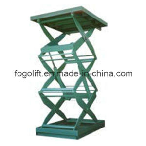 Good Quality Lifting Height 6m Electric Hydraulic Platform Lift Table pictures & photos