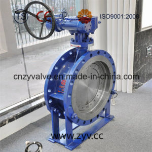 API/JIS/GB Wcb Big-Sized Worm Gear Butterfly Valve (D343H-16C-DN800) pictures & photos
