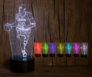 Kobe 24 3D LED Lamp with Nice Look pictures & photos
