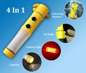 Mini Multi-Function 4 in 1 Auto Emergency Hammer pictures & photos