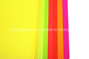 Superb Uncoated Wood Pulp Dyed Color Paper Fold Paper pictures & photos