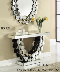 2017 Console Table with Clear Mirror Decor Furniture pictures & photos