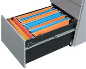 Under Office Desk Metal 3 Drawer Mobile Pedestal pictures & photos