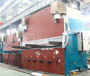Hydraulic Aluminum Metal Bending Machine, Press Brake Pbh-800t/6000 pictures & photos