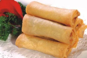 IQF Frozen Tsing Tao Vegetable Frozen 50g/piece Spring Rolls pictures & photos