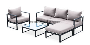 All Weather Patio Outdoor Aluminum Sofa Corner Sectional Set pictures & photos