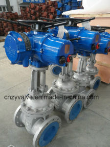 Electric Control Gate Valve Dn200 pictures & photos