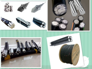 XLPE PE PVC Insulation Material and Aluminum Alloy AAAC Aluminum AAC Conductor Material Low Voltage Twisted ABC Cable pictures & photos