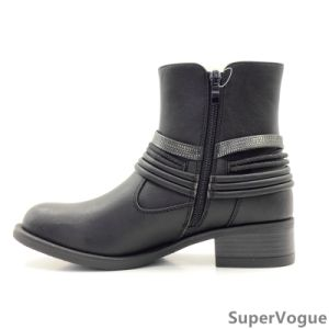 Comfortable Fashion Lady Women Ankle Horse Boots Shoes pictures & photos