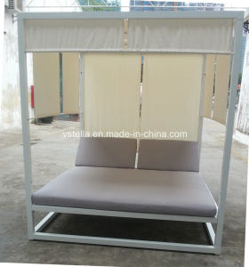 All Weather Aluminum and Plywood Daybed for Hotel Beach Garden pictures & photos
