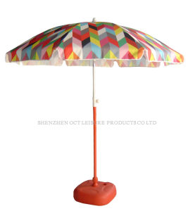 Personalized Full Color Printing Beach Umbrella (OCT-BURZY02) pictures & photos
