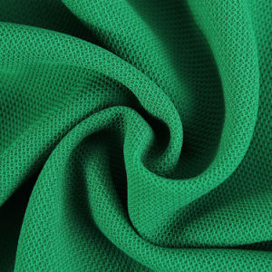 100% Polyester Honeycomb Mesh Cloth Fabric for Dress pictures & photos