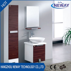 Hot Sell Melamine Teak Bathroom Furniture with Side Cabinet pictures & photos