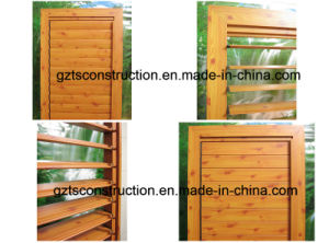 High Quality Aluminium Shutter Window for Australia Market pictures & photos