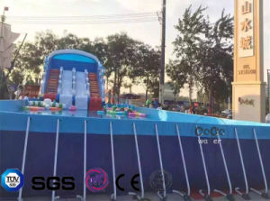 2017 Inflatable PVC Frame Pool LG8090 pictures & photos