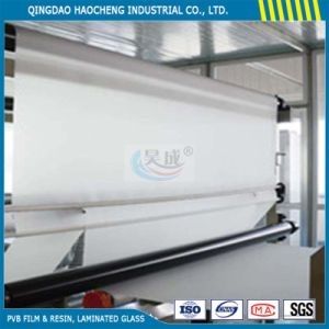 0.38mm Clear PVB Film for Laminated Safety Glass pictures & photos