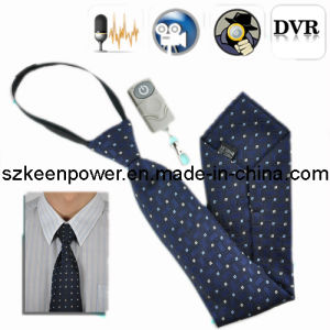 Camera Tie with Wireless Remote, Hidden Tie Gadgets Dvrs pictures & photos