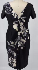 Ponte Fabric Printed Ladies Dress pictures & photos