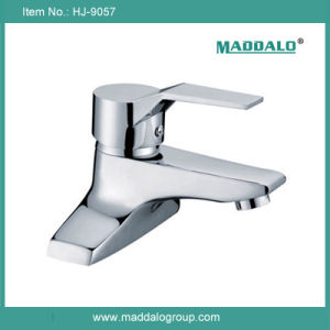 Asian Style Economic Bathroom Hot Cold Basin Mixers (HJ-9057)