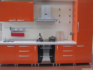 18mm Glossy Kitchen Cabinet Door pictures & photos