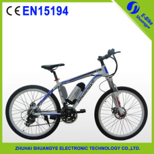 "Fashional 26"" Mountain Electric Bicycle for Tall Men pictures & photos"