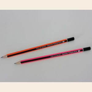 High Quality Neon Pencil with DIP End in PVC Box of 12PCS (1619) pictures & photos