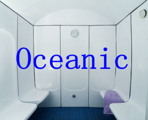 4 Seat Comfortable Corian Steam Cabin for Steam Shower Room