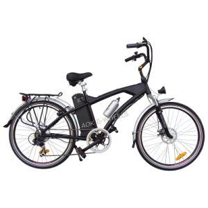 Aluminum Frame Mountain Lithium Battery Electric Bike (TDE-038) pictures & photos