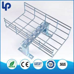 100-800W 50-150h 3ml Wire Mesh Cable Tray Stainless Steel Powder Coated Wire Mesh Cable
